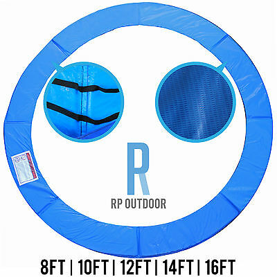 AU50.99 • Buy NEW Trampoline Spring Safety Pad Cover Round Spare 8ft 10ft 12ft 14ft 16ft Foot
