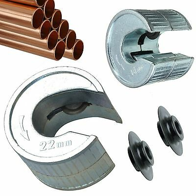 $ CDN17.29 • Buy Tube Cutter 15 & 22mm Pipe Slice 1 X Extra Rotary Blades Pipeslice Copper Pipes