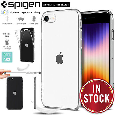 AU15.99 • Buy For Apple IPhone 8 7 Plus / SE 2020 Case, SPIGEN Liquid Crystal Thin Slim Cover