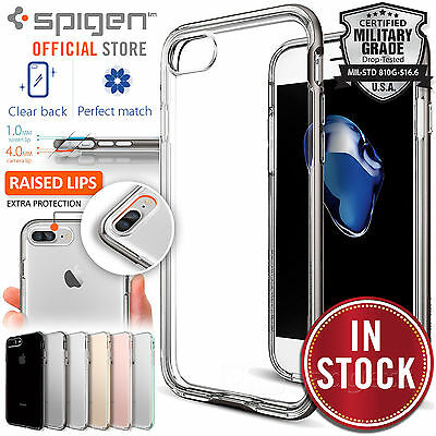 AU19.99 • Buy Genuine SPIGEN Neo Hybrid Crystal EX Cover For Apple IPhone 7 Plus/7/6S/6 Case