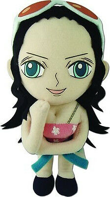 $18.03 • Buy NEW One Piece Nico Robin 8  Stuffed Plush Doll By GE Official Licensed GE52724
