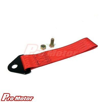 mini cooper tow hook red