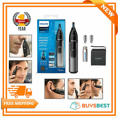 AU26.64 • Buy Philips Series 3000 Wet & Dry Nose Ear & Eyebrow Trimmer Showerproof - NT3650/16