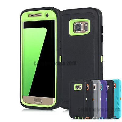 AU11.91 • Buy Hybrid Heavy Duty Shockproof Armor Hard Case Cover For Samsung Galaxy S6 S7 Edge