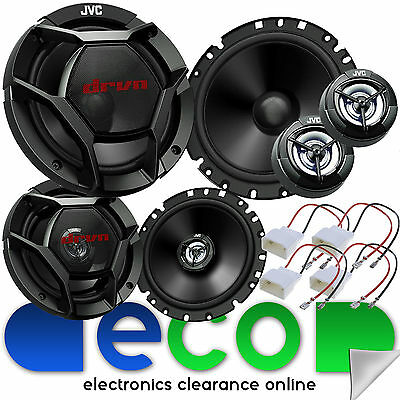 Ford Focus MK2.5 RS ST 1320 Watts 3 Door Front & Rear Car Speaker Upgrade Kit • 99.99£