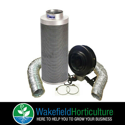 Carbon Filter Fan Duct Viper Extraction Kits 4 5 6 8 10 12 Grow Tent Hydroponics • 135£