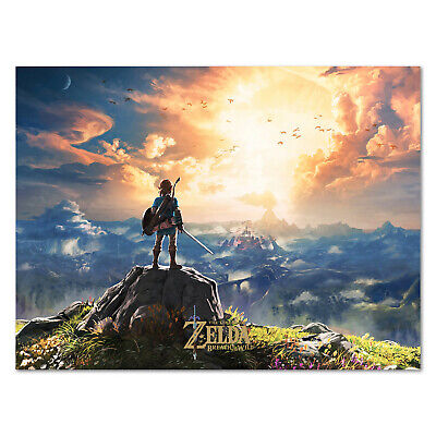$12.99 • Buy The Legend Of Zelda: Breath Of The Wild - Box Art - High Quality Prints