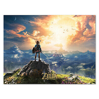 $14.44 • Buy The Legend Of Zelda: Breath Of The Wild Poster - Box Art - High Quality Prints