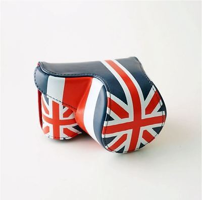 $ CDN82.12 • Buy Union Jack Camera Case Cover Pouch Bag + Neck Strap For Sony A5000 A5100 A6000
