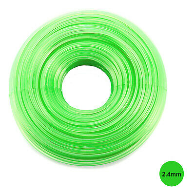 HEAVY DUTY STRIMMER LINE 2.4mm X 15M  FOR PETROL STRIMMERS STRIMMER WIRE CORD • 3.99£