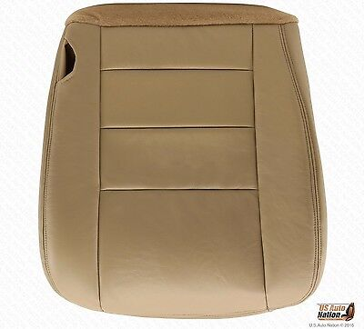 $72.50 • Buy 2002 03 04 2005  Ford F250 F350 Lariat Driver Bottom Seat Cover Tan Color Vinyl