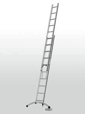 £242.15 • Buy Hymer Combi Ladder With Smart-Base - Spirit Level - 2x10 Tread - Trade - New