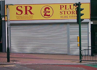 £395 • Buy ELECTRIC SHOPFRONT SECURITY ROLLER SHUTTER DOORS - Installation Available