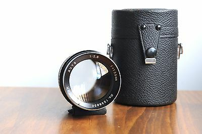 AU139.95 • Buy TASMAN Auto 135mm F/2.8 For Pentax M42 Screw Mount   W/ Leather Case