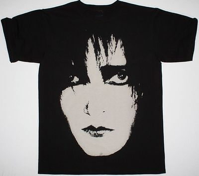 Siouxsie And The Banshees Sioux Face Mens Black T Shirt Post Punk Gothic • 17.13£