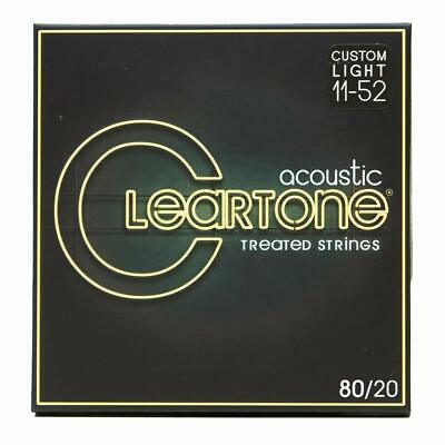 $ CDN19.45 • Buy Cleartone 7611 Acoustic Guitar Strings 80/20 Bronze Extra Light Coated 11-52