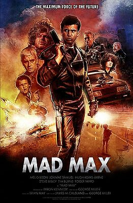 £12.99 • Buy Mad Max Poster 1 - Various Sizes - Uk Seller - Tom Hardy/mel Gibson