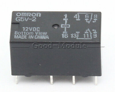 £1.08 • Buy 12V Relay G5V-2-12VDC 2A Signal Relay 8PIN For Omron Relay