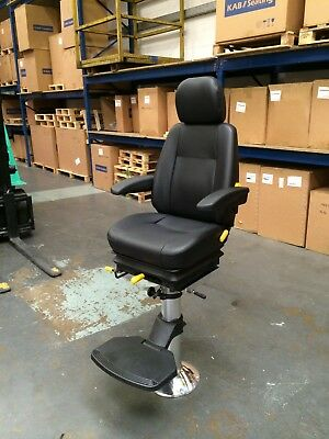 £1099 • Buy Compact Marine Chair & Pedestal - Helm Captains Pilot Boat Fishing Trawler Seat