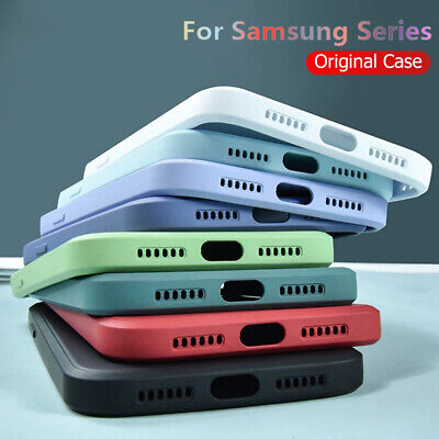 $ CDN3.77 • Buy 12 Colors Liquid Silicone Case Cover For Samsung S20 FE S10 S9 S8 A21S A71 A51