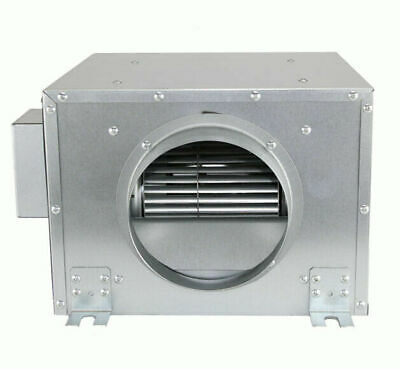 Hydroponics Silent 6  Inch 150mm 500m3/h GROW ROOM ACOUSTIC BOX EXTRACTOR FAN • 172.50£