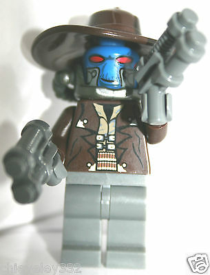 Lego Star Wars Cad Bane Minifigure Clone Brand New (Removed From Keychain) • 199.99£