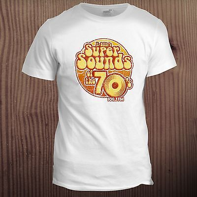 £9.99 • Buy Super Sounds Of The 70s Inspired Reservoir Dogs Retro Dad Father T Shirt