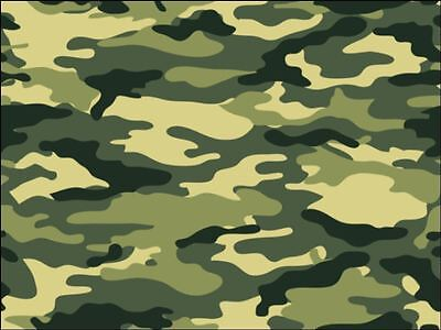 £3.49 • Buy Army Green Camouflage Print  Edible Cake Topper Wafer Or Icing Decoration