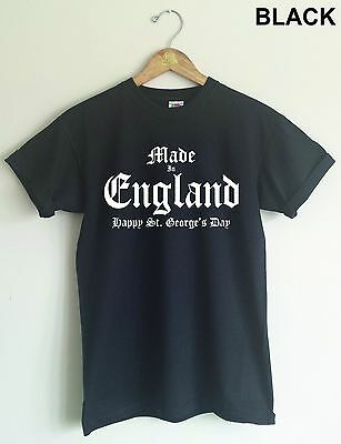 St Georges Day T-Shirt - Made In England, Various Colour TShirts • 16.99£