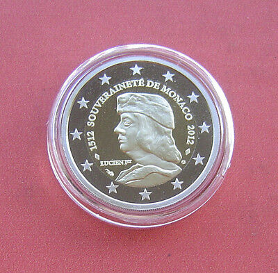 $ CDN593.18 • Buy Monaco 2012 500 Years Of Sovereignity 2 Euro Bi-metallic Proof Coin