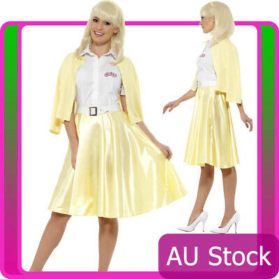 AU48.92 • Buy Licensed Womens Grease Good Sandy Costume 1950s 50s Smiffys 50's Fancy Dress