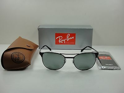 11127e2214 Ray-ban Signet Sunglasses Rb3429m 002 40 Black Frame silver Mirror Lens 55mm