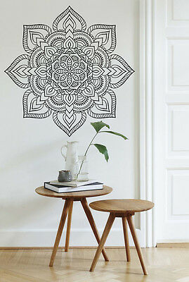 Mandala Wall Decal Vinyl Sticker Line Art Boho Styling Interior • 22.99£
