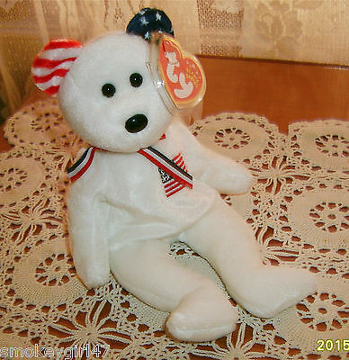 $499.99 • Buy Ty AMERICA Beanie Baby NWMT, Reversed Ear, Store Exclusive - Retired, 2002