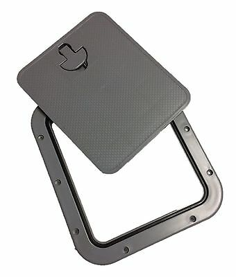 £24.99 • Buy Nuova Rade Boat Access/Inspection Hatch With Detachable Lid (356mm X 306mm) Grey