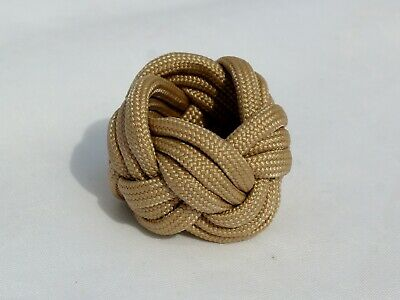 Boy Scout Cub Neckerchief Woggle Slide Turks Head Knot Paracord Handmade • 5.70£