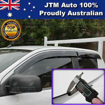 AU54.51 • Buy Weather Shields Window Visor To Suit Ford Ranger Extra / Super Cab 2012-2020