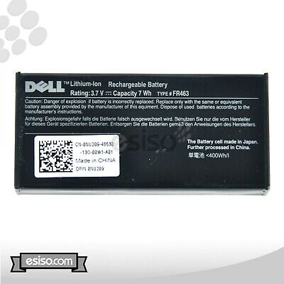 $27 • Buy LOT OF 4 GENUINE NU209 0NU209 312-0448 DELL PERC 5i 6i H700 RAID BATTERY