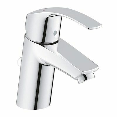 GROHE 33265 002 EUROSMART Single Lever Basin Mixer 1/2  Tap With Pop-up Waste • 65.90£
