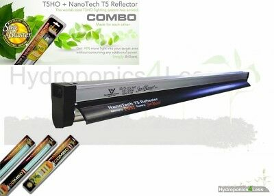 Sunblaster T5 Nano Propagation Grow Light For Cuttings Clones Seeds All Sizes • 39.99£