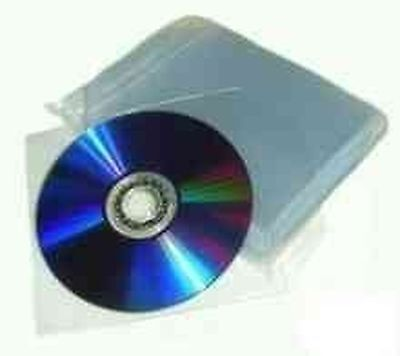 £41.45 • Buy 2500 × Premium 120 Micron CD Plastic Cases With Sleeve And Non-Sealable Flap