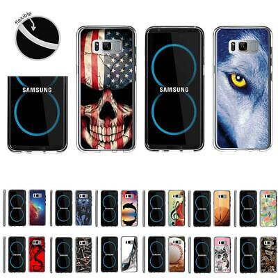 AU11.72 • Buy For Samsung Galaxy S8+ / S8 Plus G955 Slim Fitted Clear Flexible TPU Case