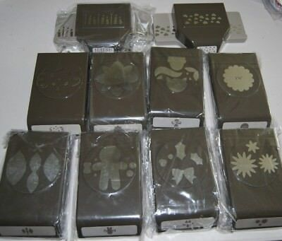 $24.95 • Buy Lot Of New Slim Style Stampin Up!  Punches - You Choose!