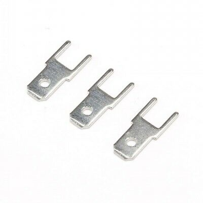 $1.99 • Buy 50Pcs 4.8mm Male Spade PCB Terminal Connector Thickness 0.8mm