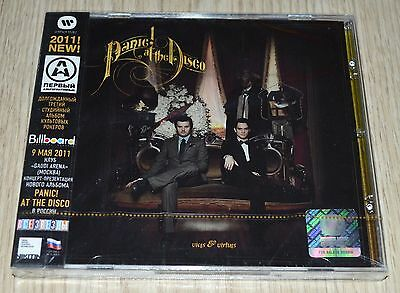 £19.10 • Buy Panic! At The Disco Vices & Virtues NEW SEALED CD Russian Import Nikitin Russia