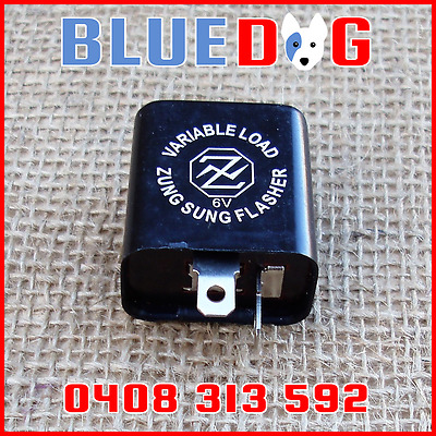 AU13.25 • Buy 6v Flasher Unit 2 Pin Variable Wattage Yamaha Style IR6