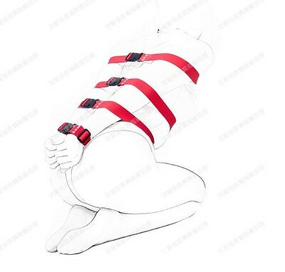 Dungeon Wheel 7 Varies Length Red Straps Full Body Restraints, Wrist Ankle Cuff • 11.52£