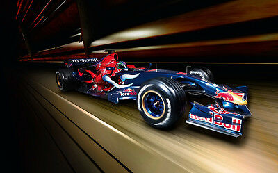 AU12.99 • Buy FORMULA ONE F1 RED BULL 2007 A4 POSTER GLOSS PRINT LAMINATED 11.7  X 7.3