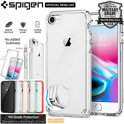 AU17.99 • Buy For Apple IPhone 8 7 6 6s Plus SE 2020 Case, SPIGEN Ultra Hybrid Hard Cover