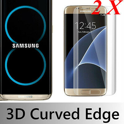 $ CDN2.88 • Buy 1/2X  Samsung Galaxy S8 Plus 3D Full Cover Tempered Glass Film Screen Protector